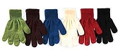 Solid Color Magic Gloves, Assorted Colors