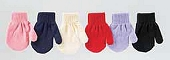 Baby Stretch Mittens, Assorted Colors