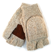 Rag Wool Glove/Mitten, Natural