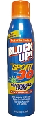 Fruit of the Earth BLOCK UP! Sport SPF 30, 6 pc box