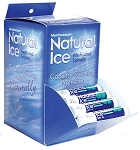 Mentholatum Natural Ice Lip Balm, 48 count display box