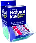 Mentholatum Cherry Ice Lip Balm, 48 count display box