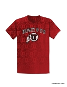 University of Utah T-shirt | AOP  U'S  All Over Tee