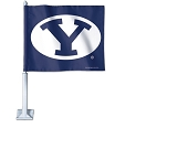BYU Car Flag