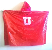U of U Red Poncho