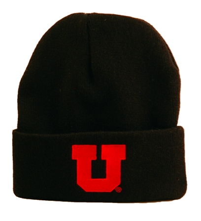 a493e23b999 Home   Licensed University Products   University of Utah Knit Beanie