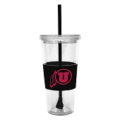 University 22-oz Double-walled Tumbler with Straw