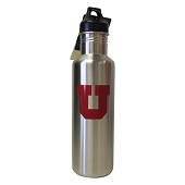 University of Utah Stainless Water Bottle