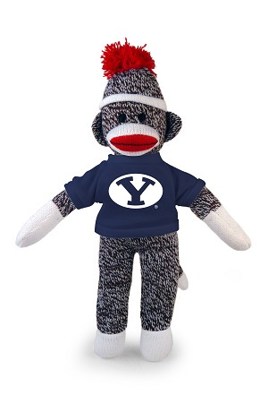 "8"" BYU Sock Monkey"