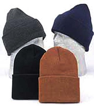 Thermal Cap/Cuff Hat, Assorted Patterns and Colors