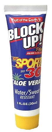Fruit of the Earth Block UP! Sport SPF 30, 1 oz, 36 count