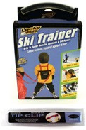 Combo Pack, Ski Trainer with Tip Clip