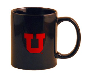 "BLOCK ""U""  UNIVERSITY OF UTAH COFFEE MUG"